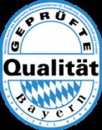 Qualitätssiegel Bayern